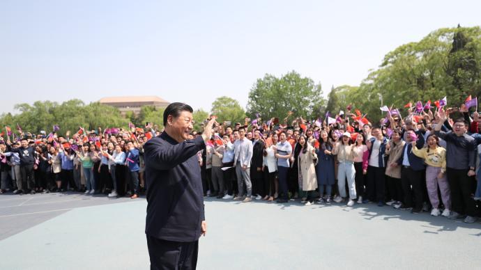 习近平总书记在清华大学考察时的重要讲话激励高校师生砥砺奋进
