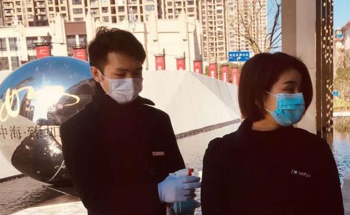 市区各级领导调研指导中海社区防疫工作