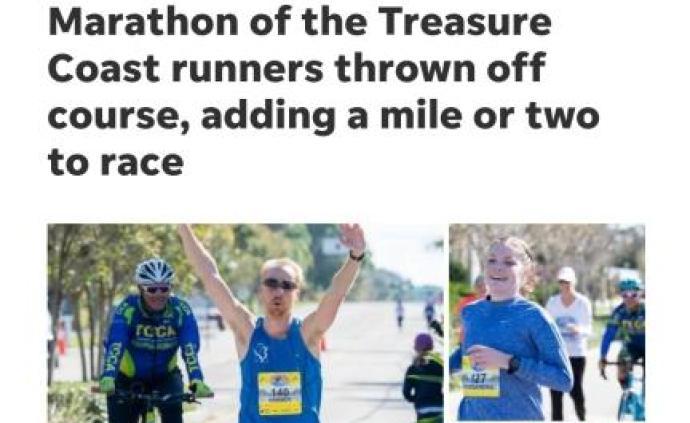 """10%志愿者""""生病"""",波士顿马拉松资格赛1300人跑错路"""