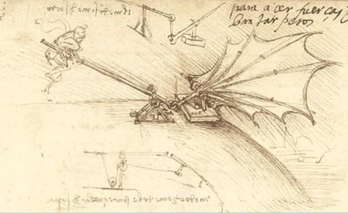 在热气球发明前,人类为飞行做了哪些想象与尝试