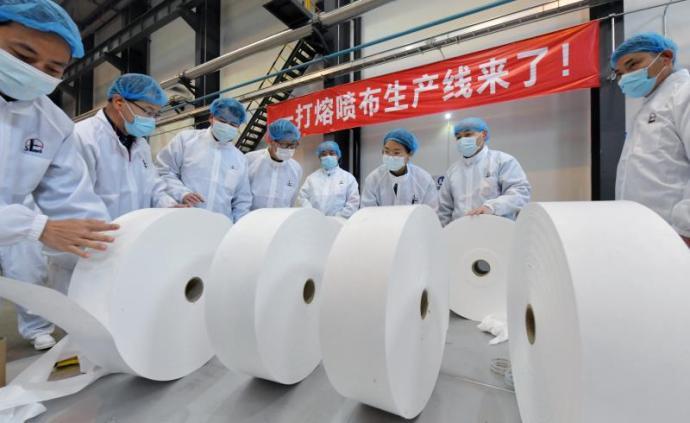 5月底中国石化熔喷布年产能超万吨,有望成世界最大生产商