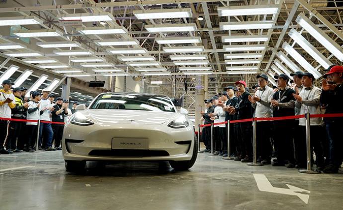 10.3万辆!特斯拉一季度产量创纪录,上海工厂生产创新高