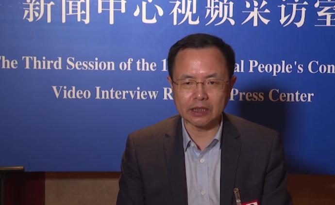 邵志清代表:人民至上的理念在民法典中得到充分诠释