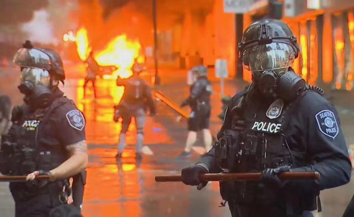 """连线西雅图   """"国民警卫队来了,抗议从暴力到平静"""""""