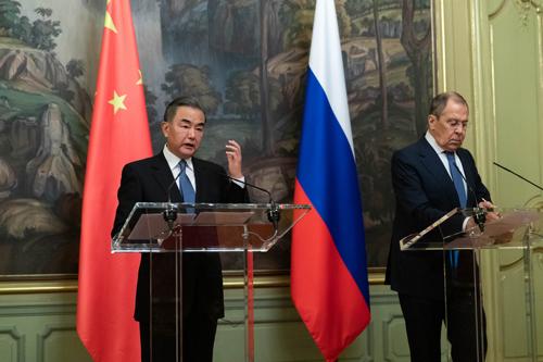 王毅:中俄是动荡不安国际形势中的重要稳定力量
