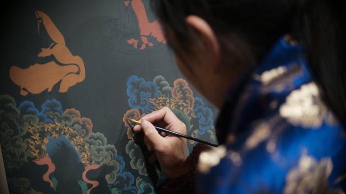 阿壩壤塘非遺傳習所的十年之路:從青年牧民到藝術從業者