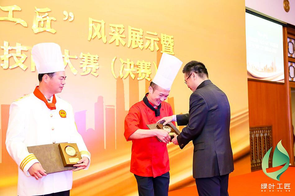 """上海机关事务""""绿叶工匠""""风采展示现场,上海市机关事务管理局供图。"""