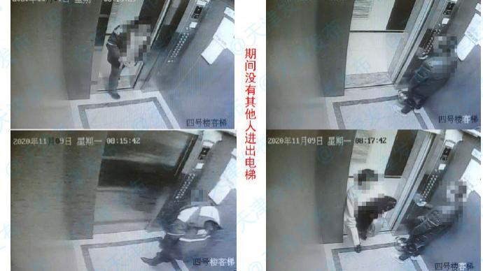 天津瞰海轩感染链:感染者在电梯里咳嗽,多人均未戴口罩