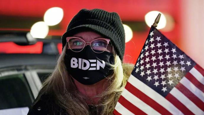 美国宾夕法尼亚州确认拜登在该州获胜