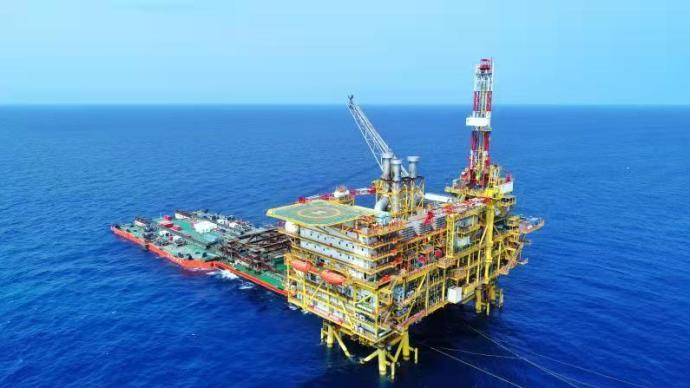 我國海上最大高溫高壓氣田投產,預計高峰年產氣超30億方
