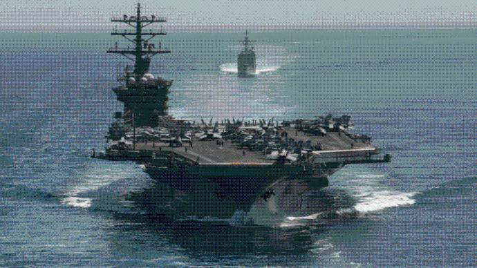 """美智库:美国海军战力""""一般"""",日均仅能出动百艘舰艇"""