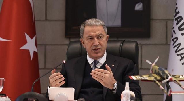 土耳其国防部长阿卡尔 央视新闻 图