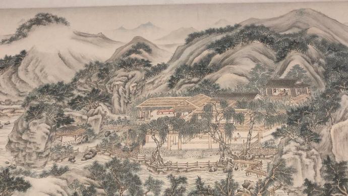 """从赵雍笔下田园看到《江山胜览》,苏宁艺术馆里读""""江南"""""""