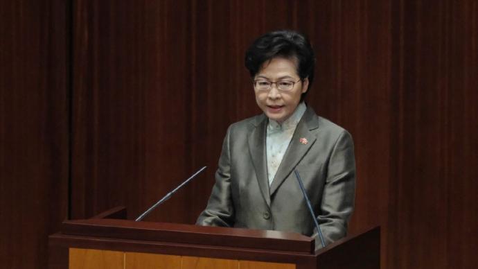 林鄭月娥:憲制秩序下特首為議員監誓無可厚非