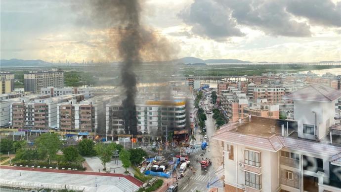 珠海斗門調查白藤二路爆炸事故:違章施工造成燃氣泄漏并爆燃
