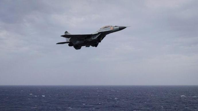 印度海军一架米格-29舰载机坠毁,系一年内第三架