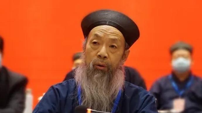 武当山李光富道长续任中国道教协会会长