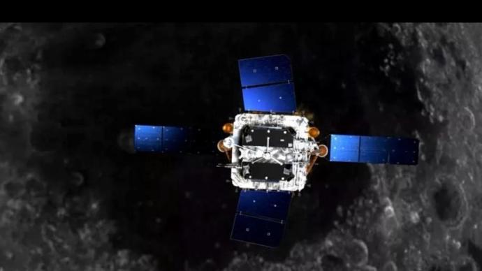 """在近月点再次""""刹车"""",嫦娥五号进入近圆形环月轨道飞行"""