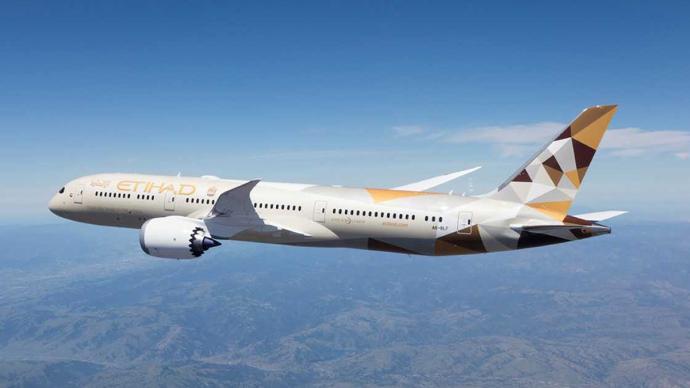 阿联酋阿提哈德航空公司将复飞阿布扎比至北京航线