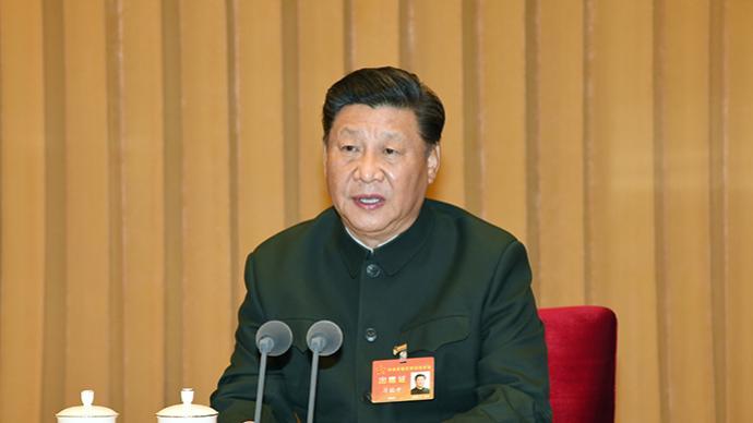 習近平主席在中央軍委軍事訓練會議上重要講話引發強烈反響