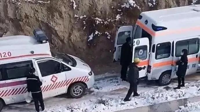 """陜西榆林:""""靖神鐵路""""橫山段發生鐵路路內事故,致4人死亡"""