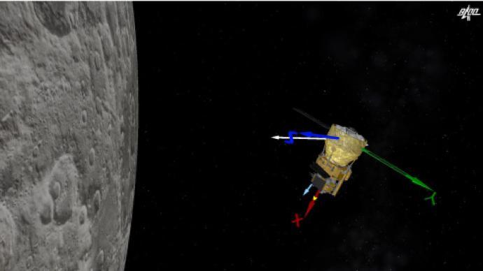 嫦娥五号探测器组合体成功分离,将择机实施月面软着陆