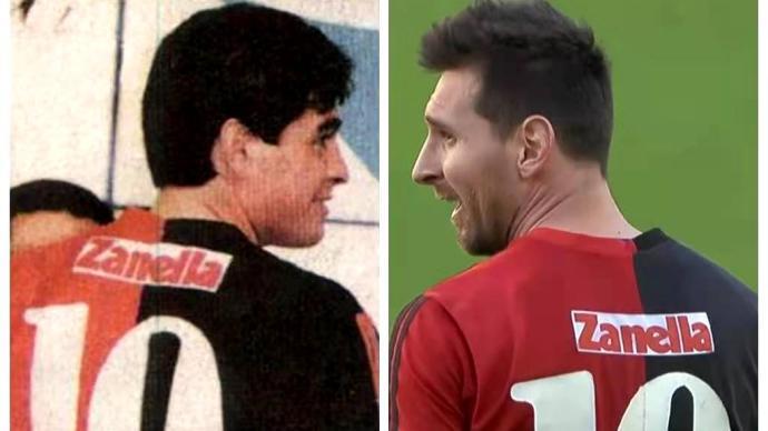 当梅西穿上老马球衣:他成不了第二个迭戈,却是最接近神的人