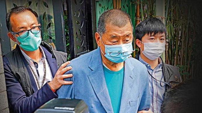 黎智英為脫罪妄圖向法庭施壓,港媒:一項罪成最高可判五年監禁