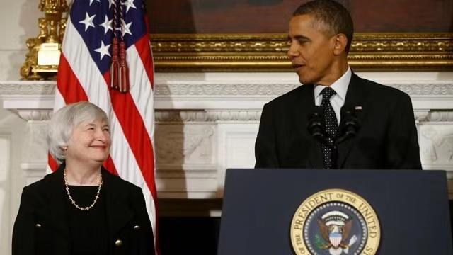 奥巴马提名耶伦为美联储主席