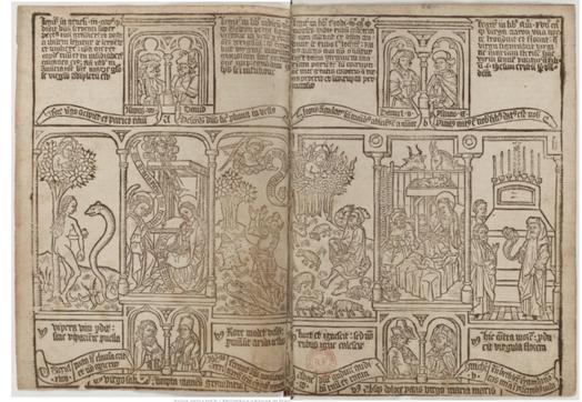 欧洲雕版印本《贫人圣经》