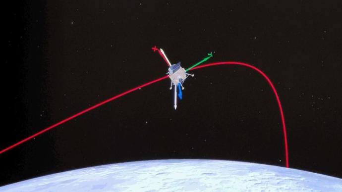 嫦娥五号计划于12月1日择机实施动力下降,软着陆月球正面
