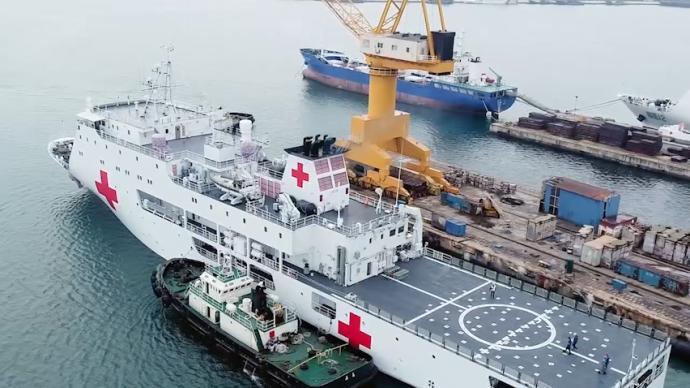 视频丨国产新型医疗船入列,实现南沙海域医疗全覆盖