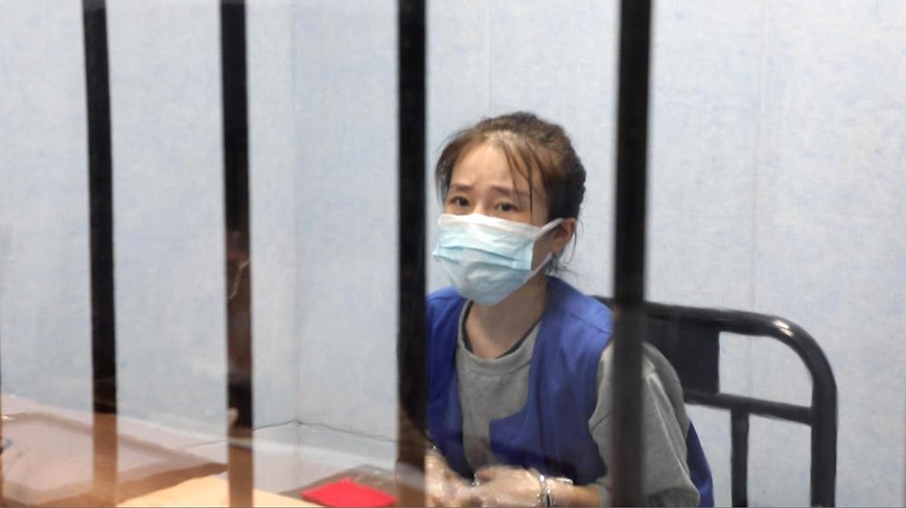 犯罪嫌疑人小蔡(化名) 本文图片均为上海青浦区人民检察院提供