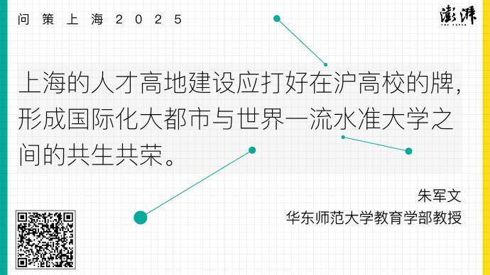 問策上海2025|深化高校海外青年人才引進政策的供給改革