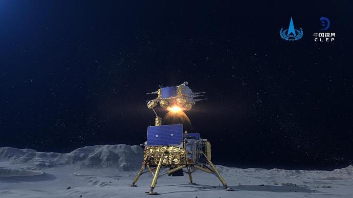 嫦娥五号实现我国首次地外天体起飞、首次在月球独立展示国旗