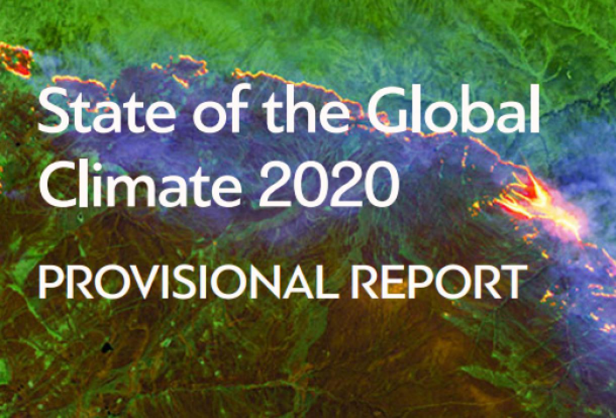 世界气象组织发布《2020年全球气候状况》临时报告。