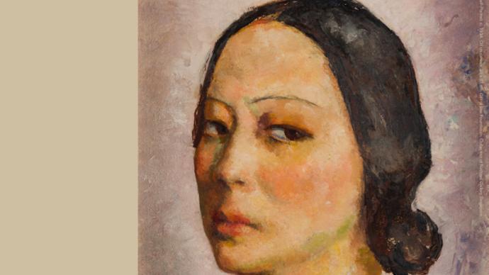 新加坡张荔英回顾展:与潘玉良齐名的她,是张静江的女儿