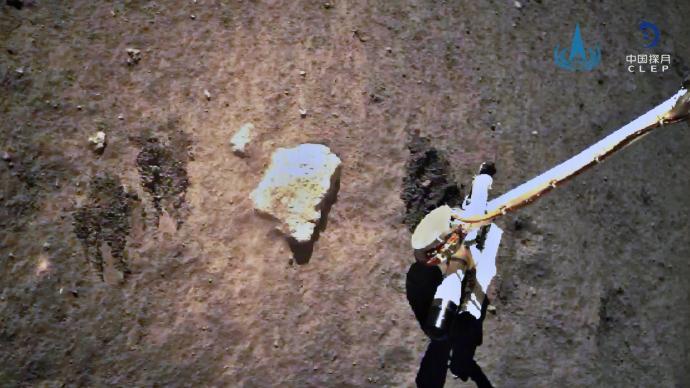 视频丨嫦娥五号顺利完成月球表面自动采样并封装保存