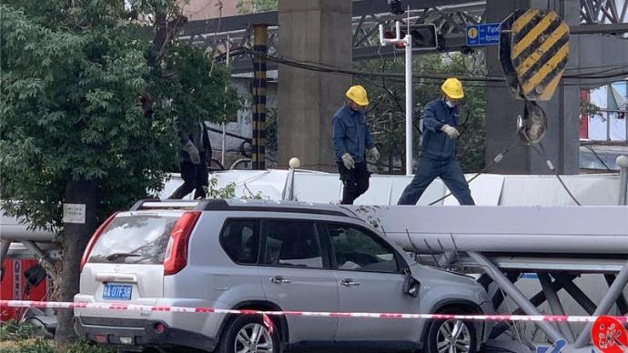 广州洛溪大桥滑落事件致3车受损:无伤亡,已成立技术专家组