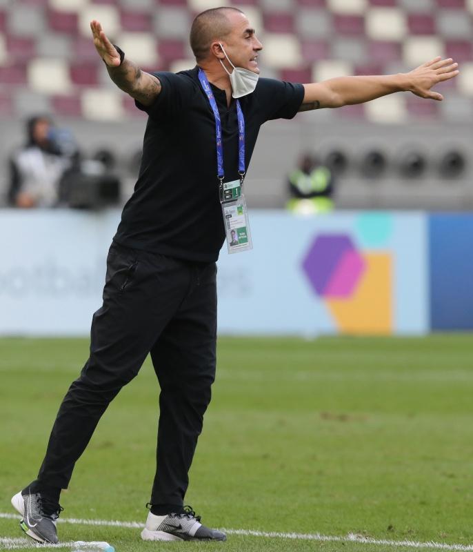 恒大主教练卡纳瓦罗。本文图片 新华社