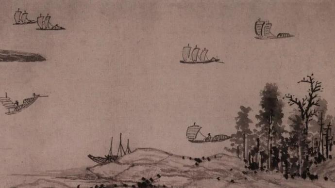 明代沈周據王鏊文賦繪制的洞庭山水長卷在追憶什么?
