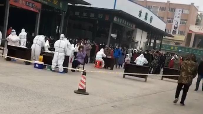 湖北荆门进口冷链食品外包装阳性后续处置:集中隔离82人