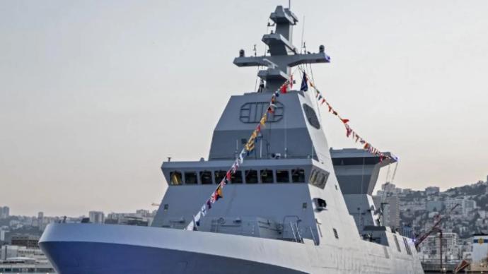 与伊朗关系因核科学家之死紧张之际,以色列接收一艘先进战舰