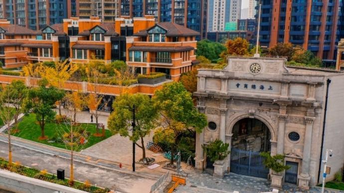 百年上海总商会建筑修缮一新,苏州河畔又添一景