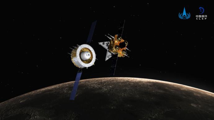 嫦娥五號上升器受控落月,圓滿完成使命