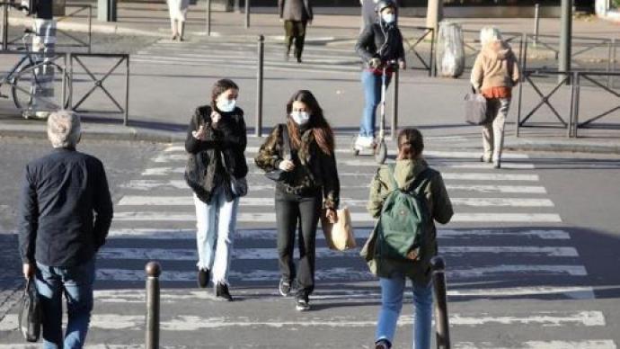 法國新增新冠確診病例14595例,累計2324216例
