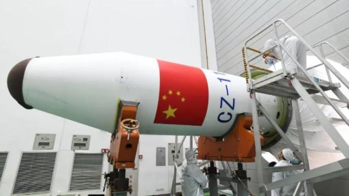 中國成功發射引力波暴高能電磁對應體全天監測器衛星