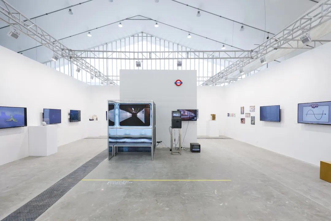 【海内外应届中国毕业生展】英国皇家艺术学院展位,第二届艺术与设计创新未来教育博览会现场
