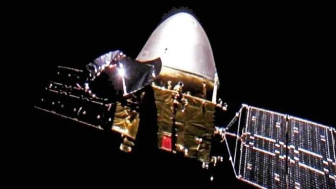 天問一號飛行近3.5億公里,預計在春節前后被火星捕獲