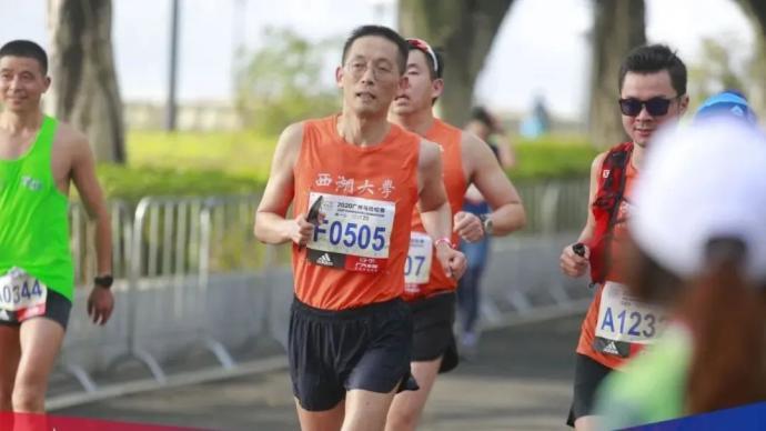 ?53歲完成人生首馬,施一公院士:馬拉松有終點科研沒有
